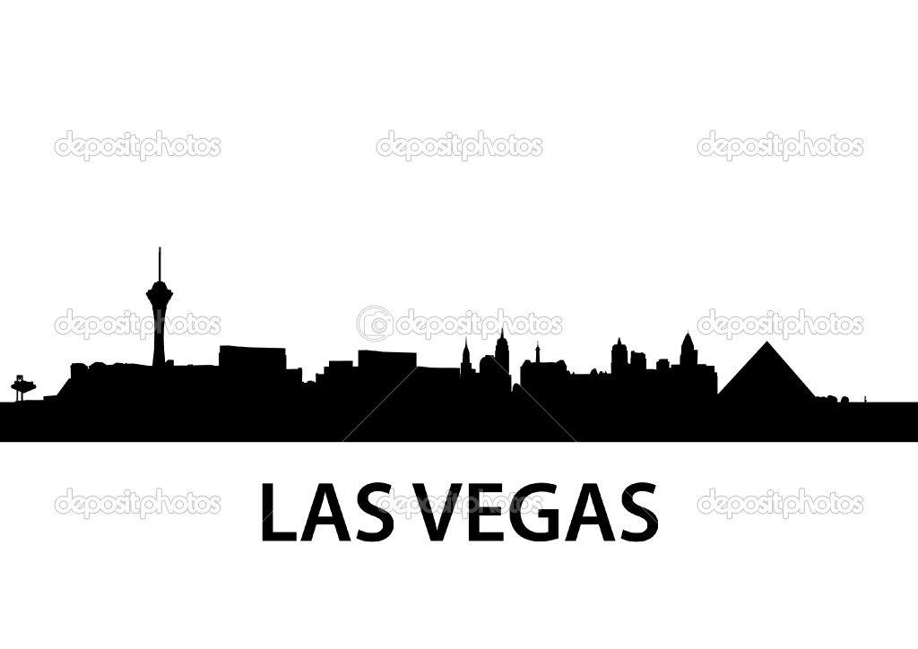 1024x724 Las Vegas Silhouette Vector Pictures Seattle Room