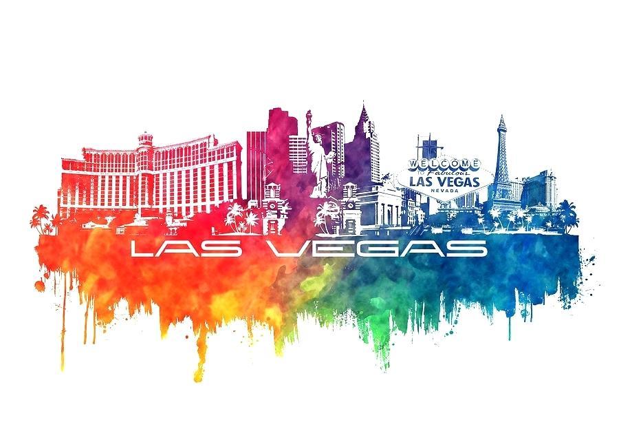 900x642 Las Vegas Skyline Silhouette Jbj Las Vegas Skyline Silhouette
