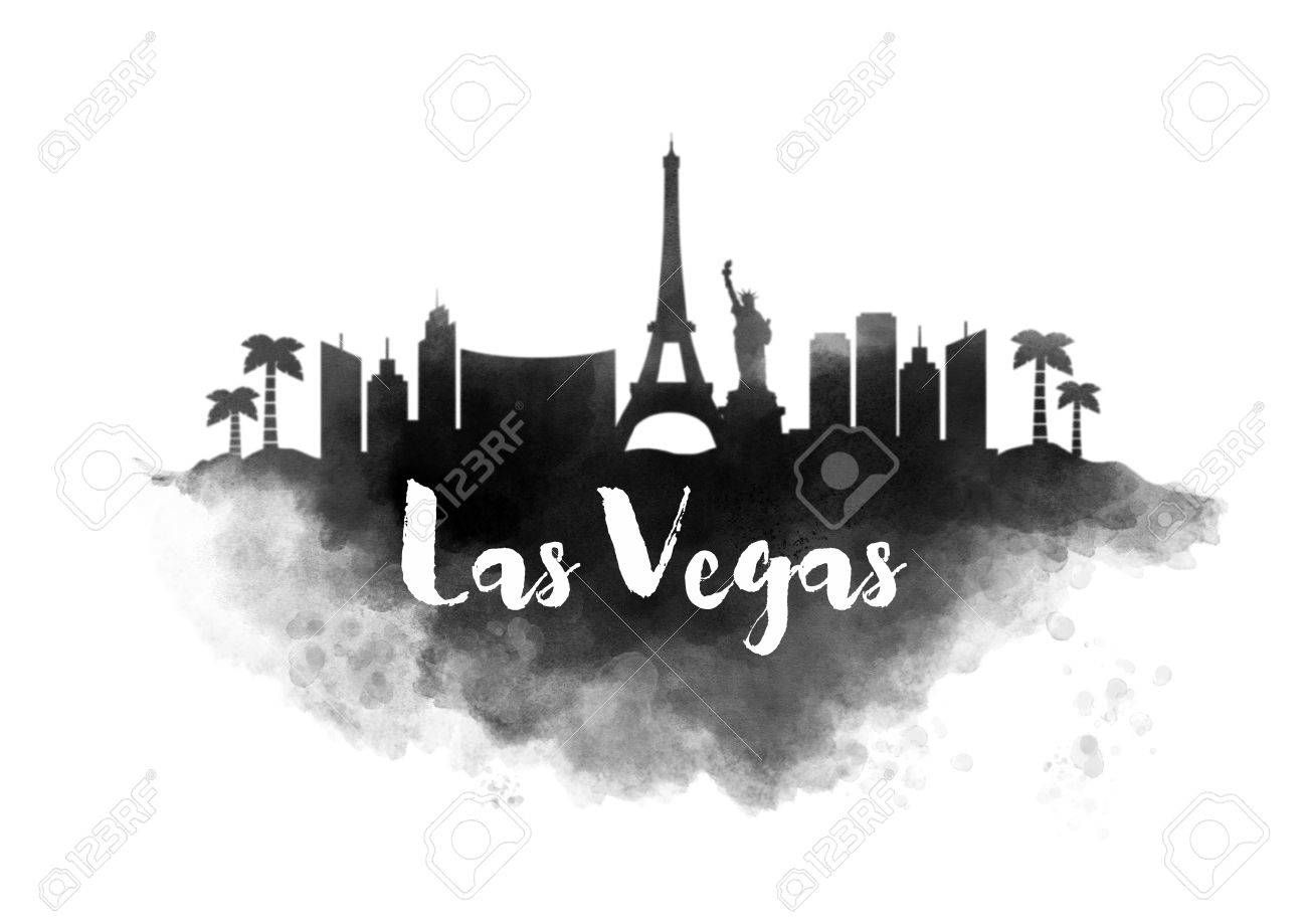 1300x919 266 Las Vegas Skyline Cliparts, Stock Vector And Royalty Free Las