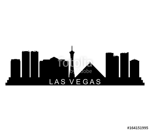 500x438 Las Vegas Skyline Stock Image And Royalty Free Vector Files On
