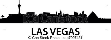 450x164 Cityscape Clipart Las Vegas Skyline