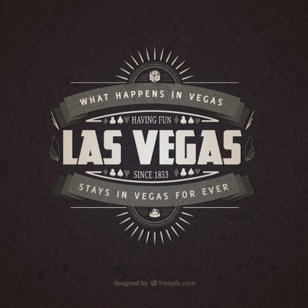 626x626 Las Vegas Vintage Badge Free Vector Free Vectors Ui Download