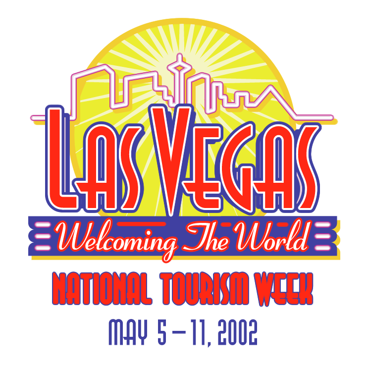 745x745 Las Vegas Welcoming The World Free Vector 4vector
