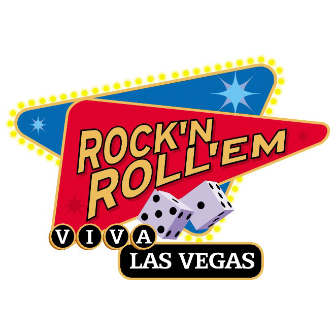 660x660 Rock And Roll Las Vegas Vector Sign