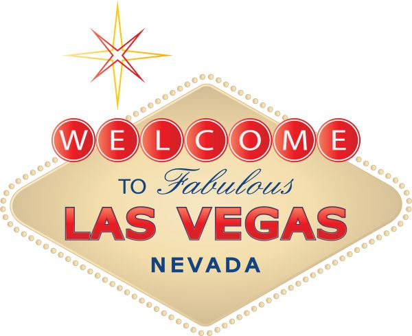 600x489 Vector Image Of A Sign Board Of Welcome To Las Vegas.
