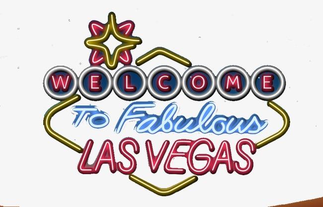 650x416 Las Vegas Neon Vector Elements, Vector Elements, Las Vegas, Neon