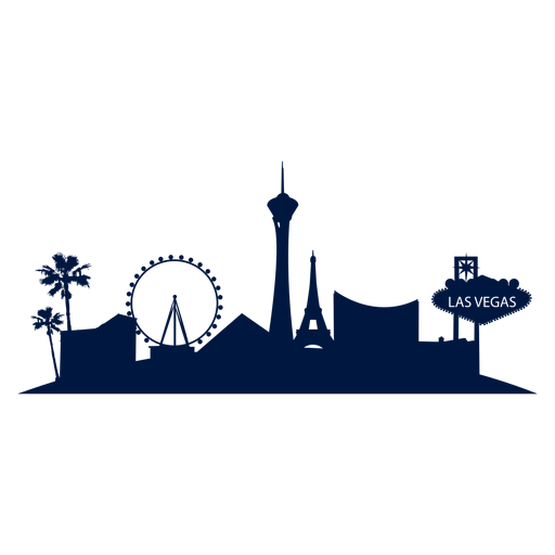512x512 Las Vegas Skyline Vector Png Transparent Las Vegas Skyline Vector