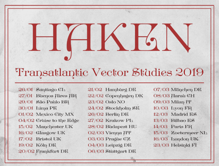 740x559 Haken Announce European Amp Latin American Tour Dates In Support Of