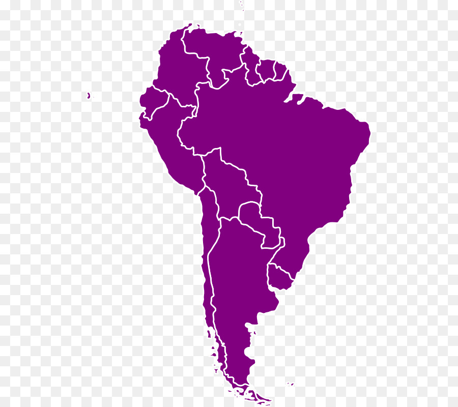 900x800 South America Latin America United States Vector Map