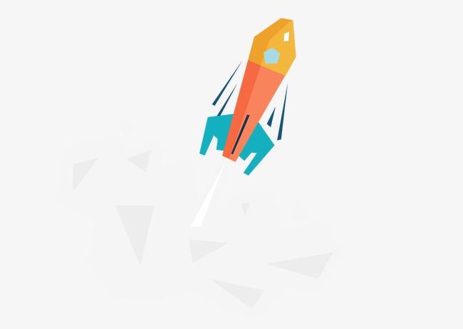 650x463 Vector Flat Rocket Launch, Rocket Vector, Rocket Launch, Vector