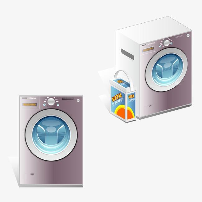 650x650 Vector Washing Machine, Vector, Washing Machine, Appliances Png