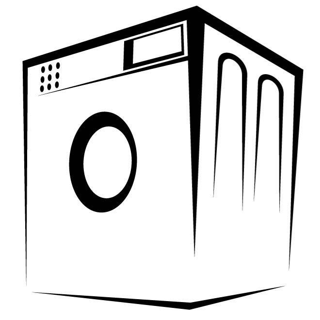 660x660 Washing Machine Vector Image