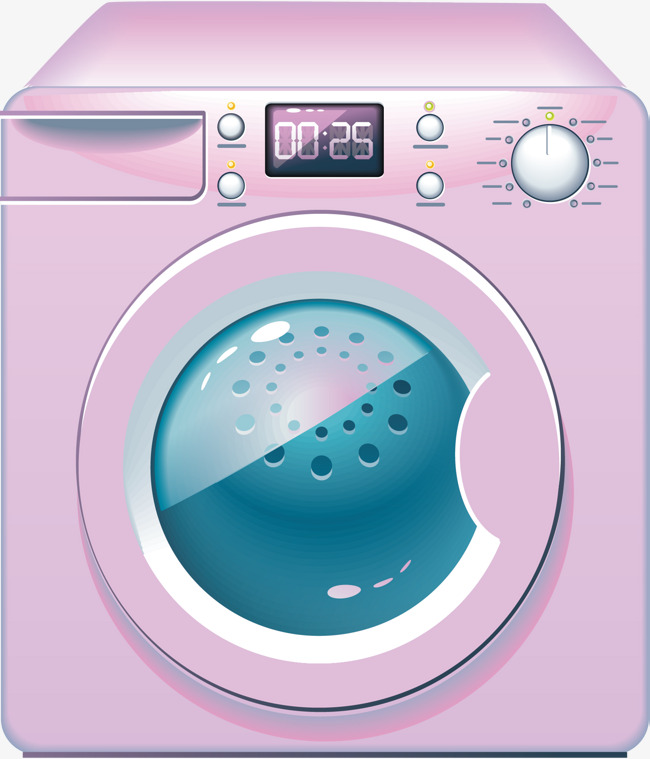 650x759 Washing Machine Png Vector Element, Washing Machine Vector