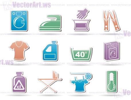 456x347 Washing Machine And Laundry Icons