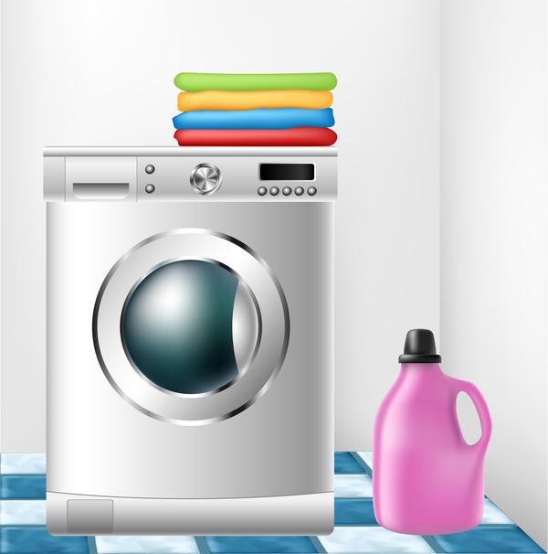 600x606 Washing Machine Illustration Vector Free Download