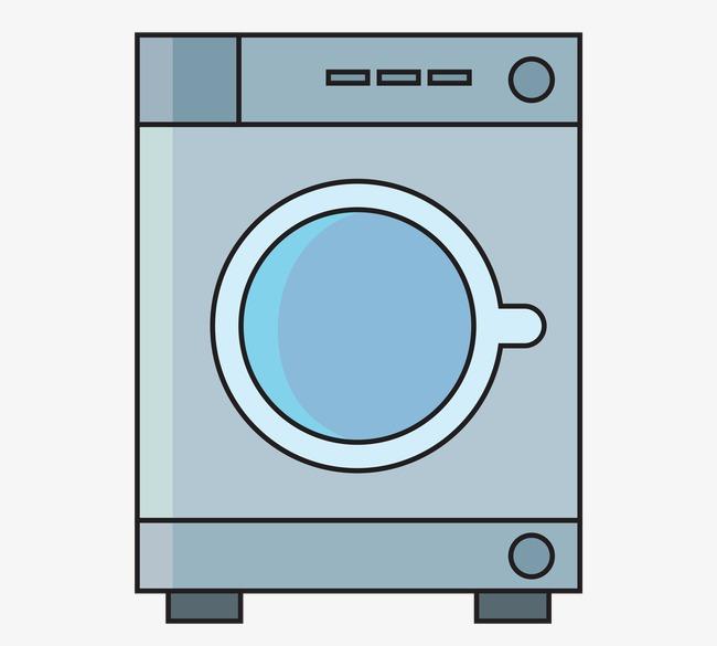 650x585 Drum Washing Machine Vector, Drum Vector, Blue, Drum Washing