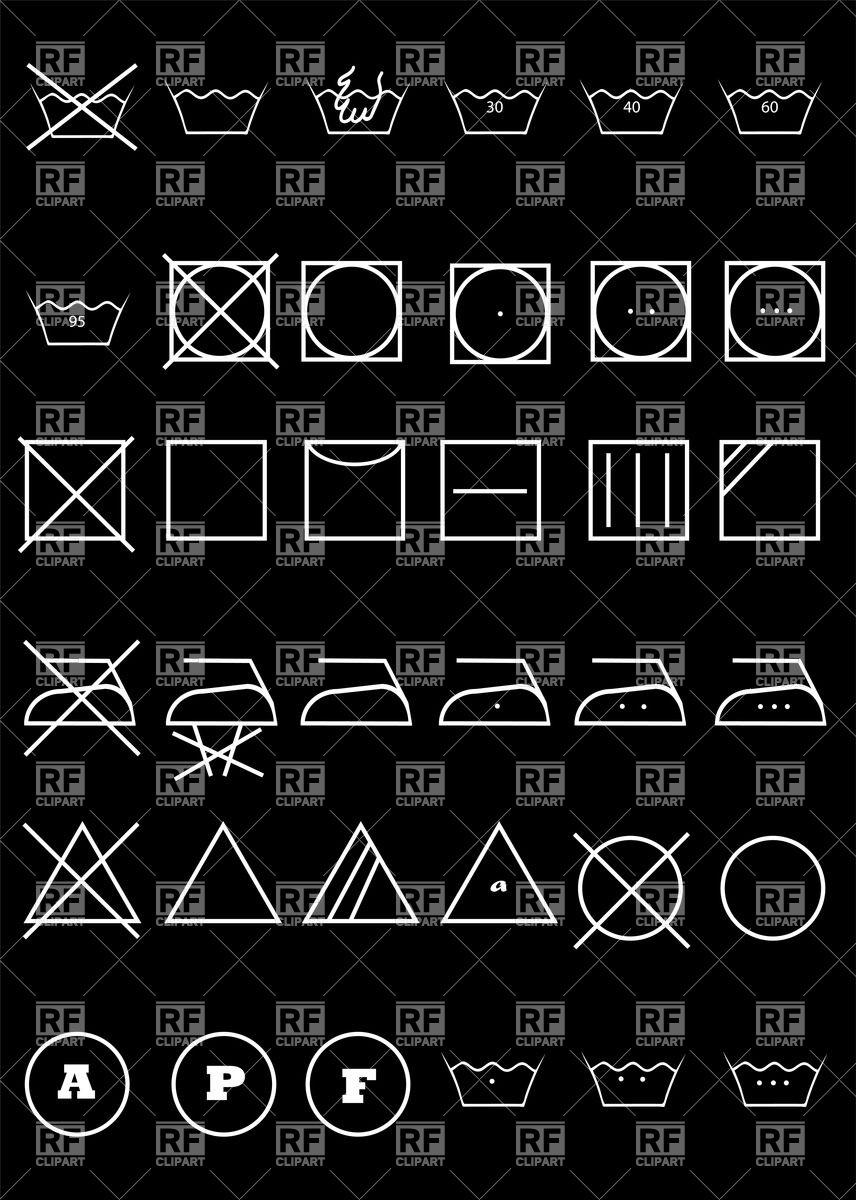 856x1200 Symbols For Clothes