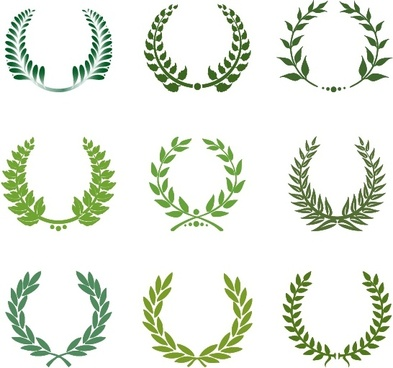 393x368 Laurel Free Vector Download (180 Free Vector) For Commercial Use