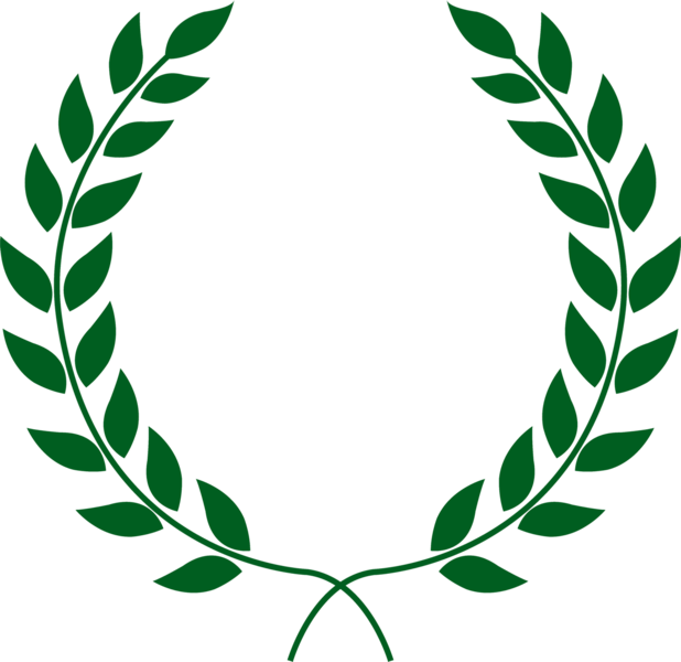 618x600 Collection Of Free Laurel Vector Wreath. Download On Ubisafe