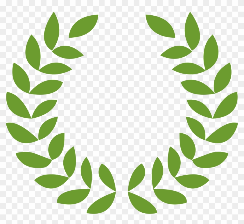 840x773 Greek Roman Laurel Wreath Vector