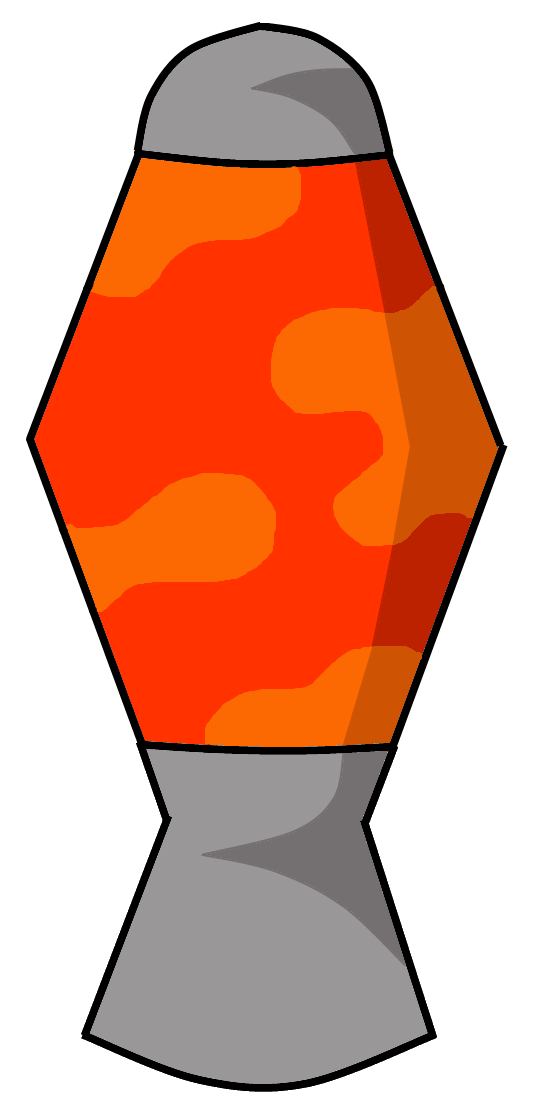 Lava Lamp Vector