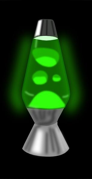 306x595 Lava Lamp Glowing Green Clip Art Free Vector In Open Office