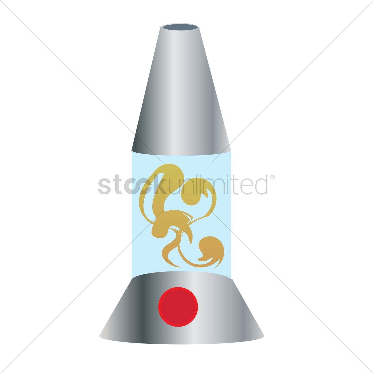 1300x1300 Lava Lamp Vector Image