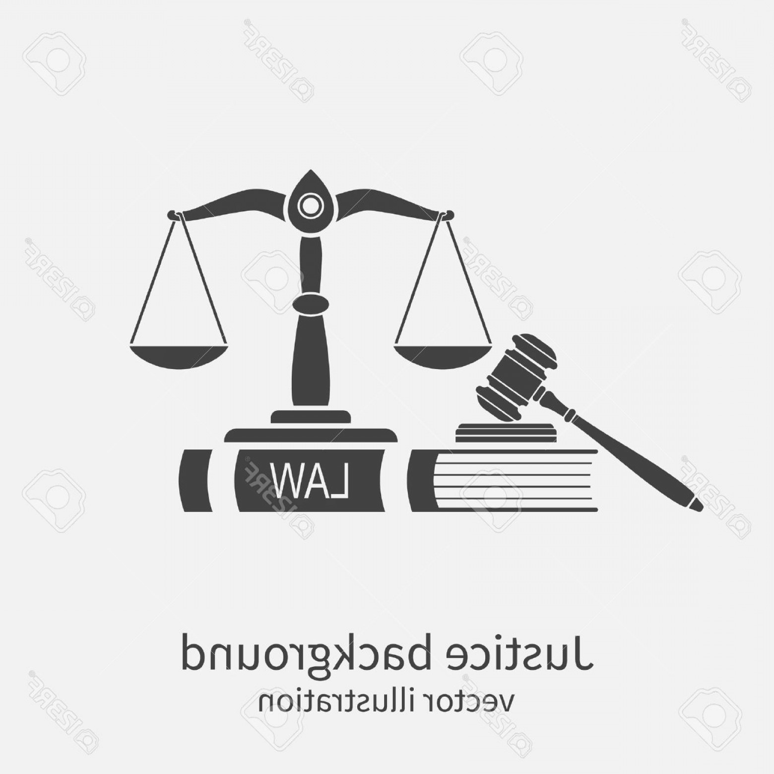 1560x1560 Photostock Vector Symbol Of Law And Justice Concept Law And