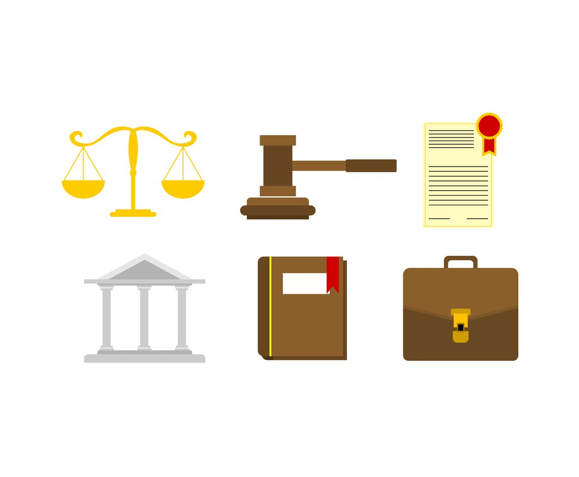 1136x936 Law Icons Vector Vector Art Amp Graphics