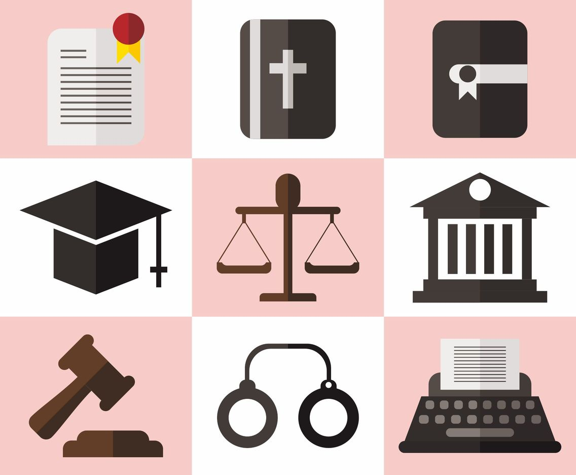 1136x936 Law Office Vector Icons Vector Art Amp Graphics