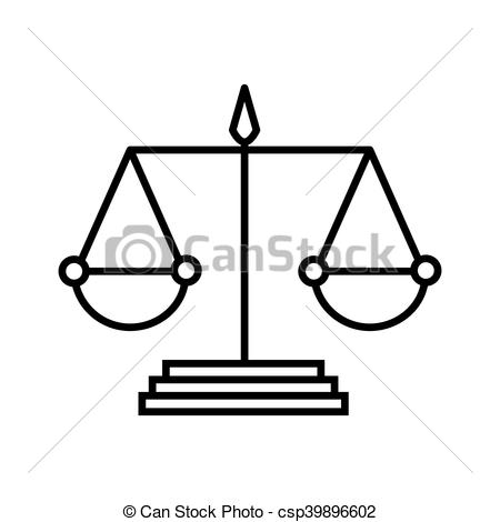 450x470 Scale Of Justice Law. Scale Law Balance Measure Instrument