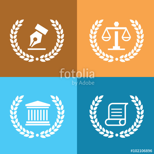500x500 Law Firm Logo,law Office Logo,lawyer Logo,vector Logo Template