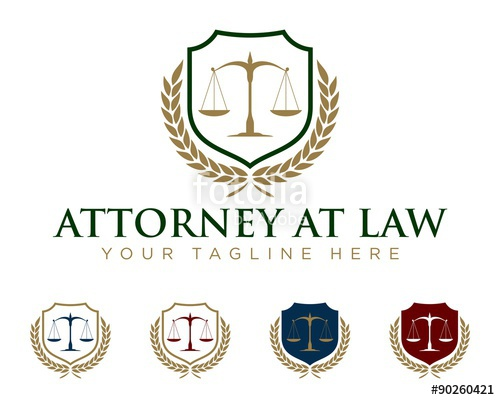 500x400 Law Office Logo Template V.5 Stock Image And Royalty Free Vector