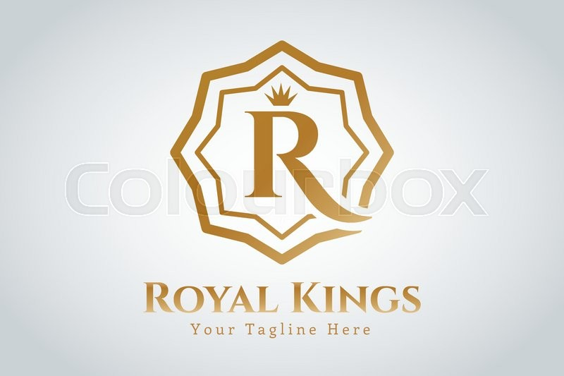 800x533 Royal Logo Vector Template. Hotel Logo. Kings Symbol. Royal Crests