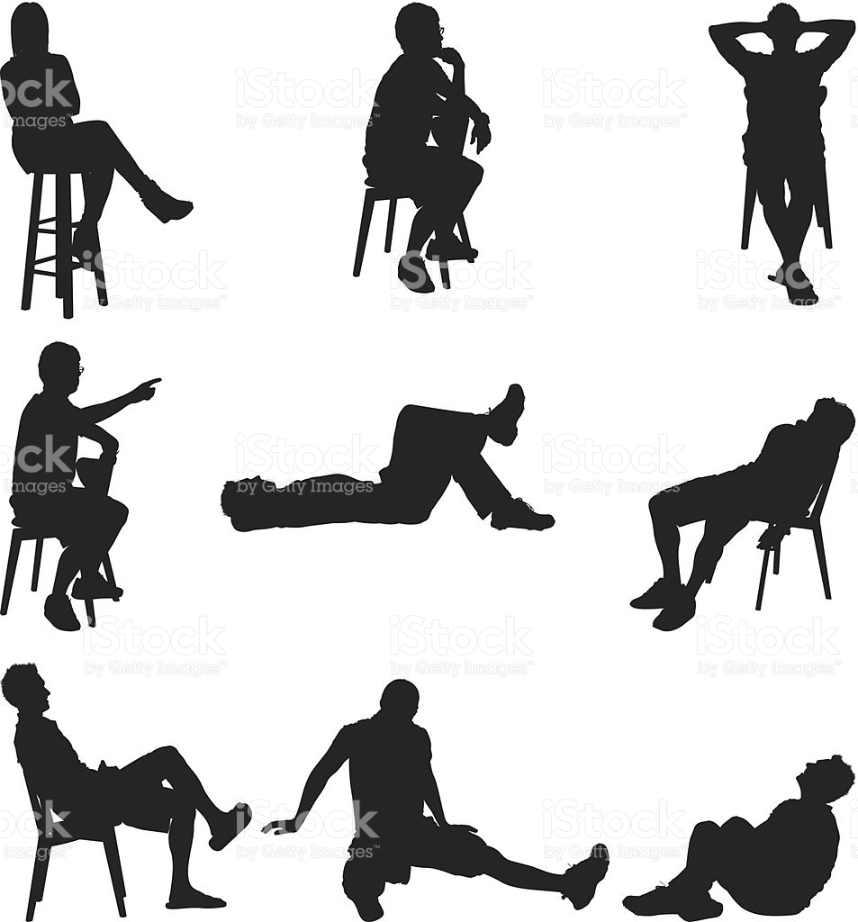 953x1024 Collection Of Lazy Person Clipart Black And White High