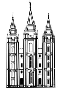Lds Temple Vector