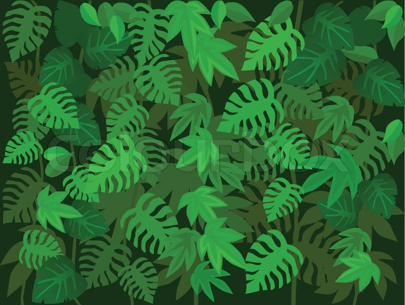 800x603 Green Leaf Background Stock Vector Colourbox