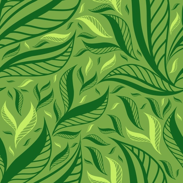 600x600 Green Leaf Background 01 Vector Free Vector In Encapsulated