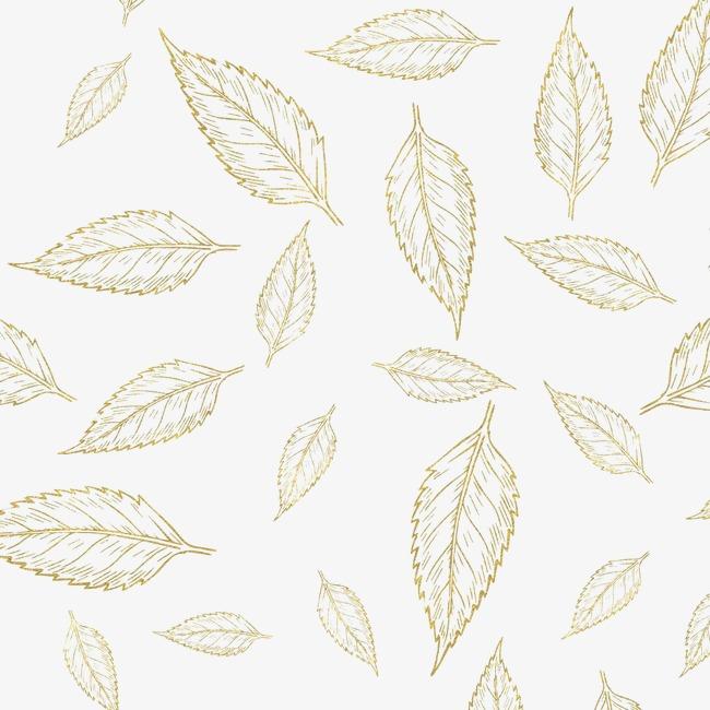 650x650 Gold Leaf, Gold Vector, Leaf Vector, Golden Png And Vector For
