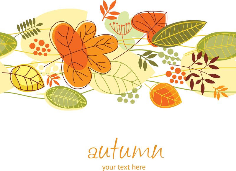 Leaf Border Vector