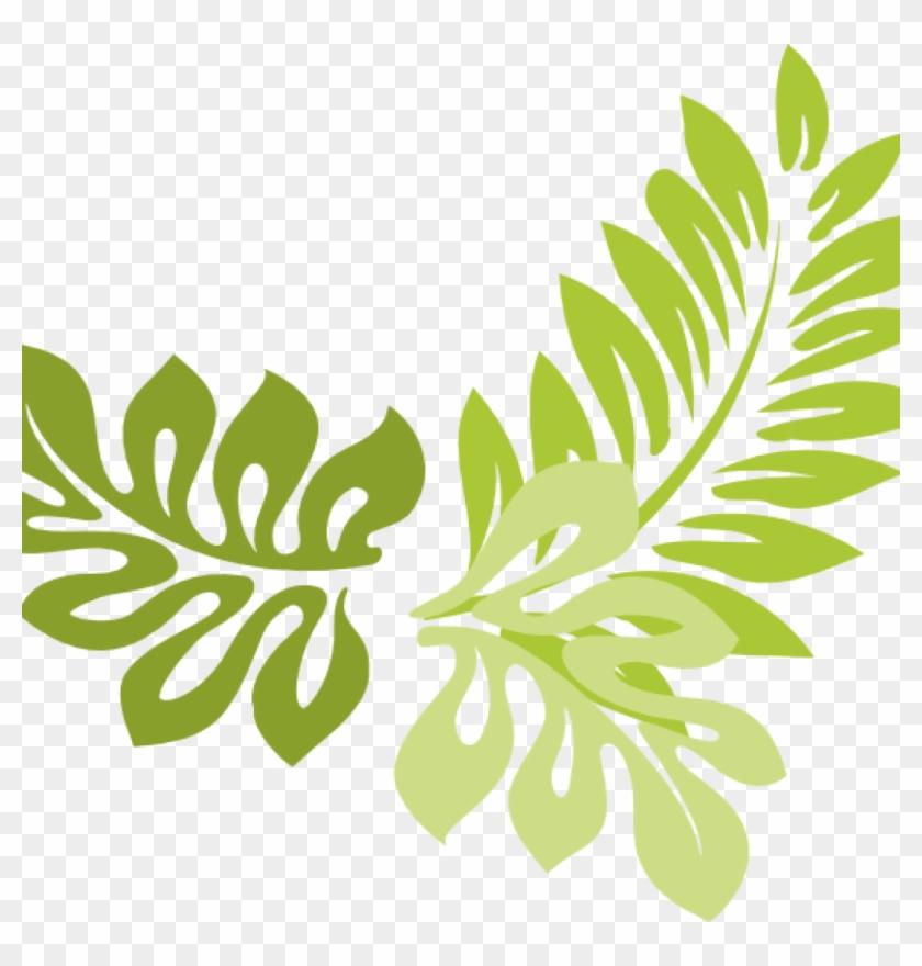 840x880 Leaf Border Clip Art Clipped At Clker Vector Clipart