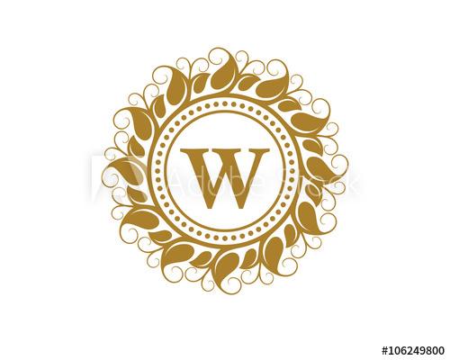 500x400 W Crest Beauty Leaf Logo