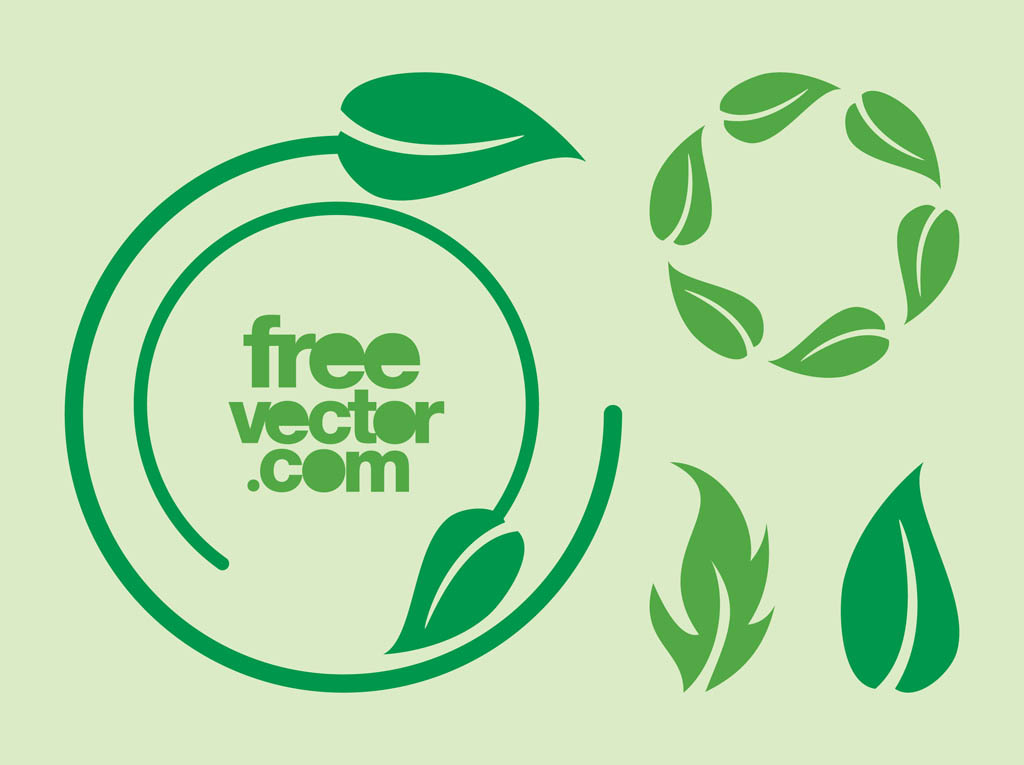 1024x765 Leaves Icons Vector Vector Art Amp Graphics