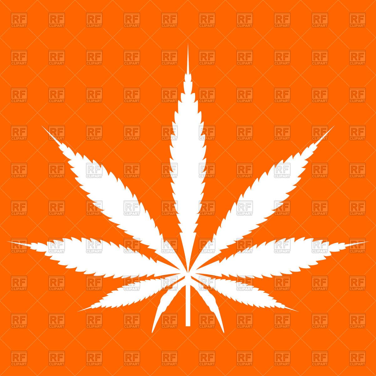 1200x1200 Cannabis (Marijuana) Leaf Icon Vector Image Vector Artwork Of