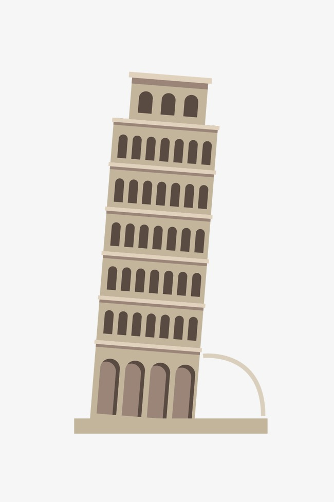 650x977 Leaning Tower Of Pisa, Tower, Leaning Vector, Tower Vector Png And