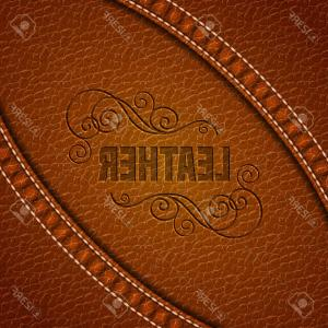 300x300 Photostock Vector Leather Texture Background Realistic Leather