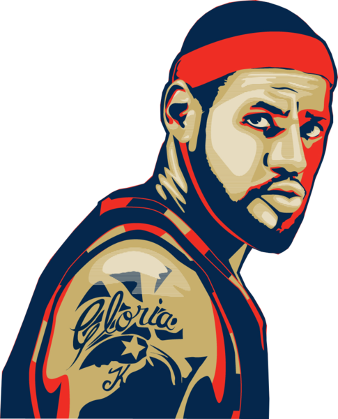 485x600 Lebron James Vector (Psd) Official Psds