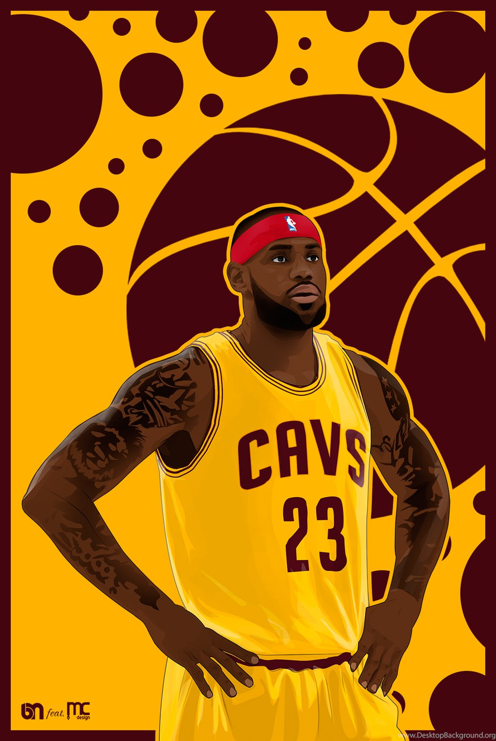 1024x1529 Lebron James Vector And Wallpapers By Burakmdesign