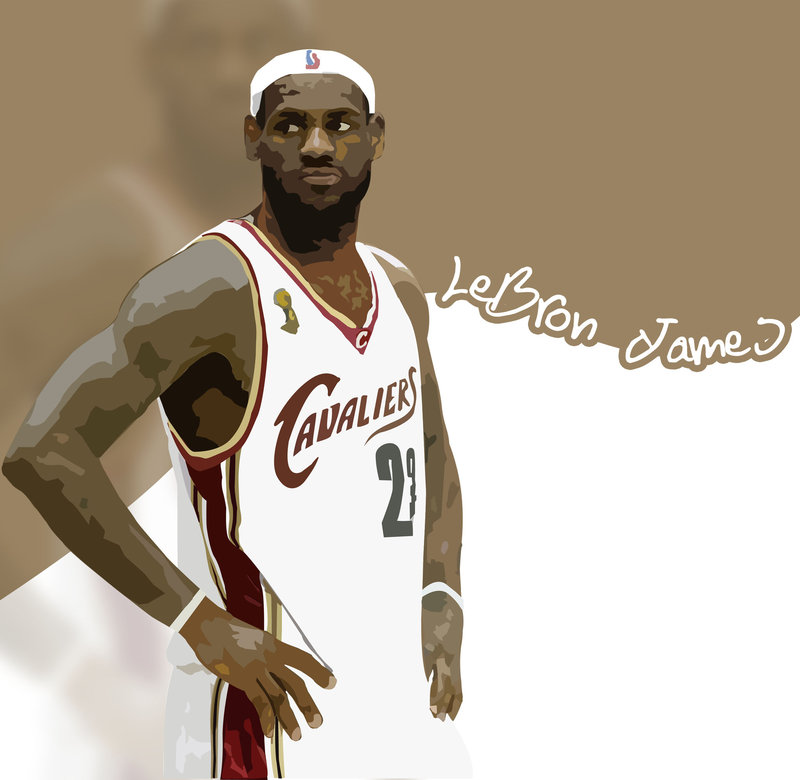 800x780 Lebron James Vector By G Crew