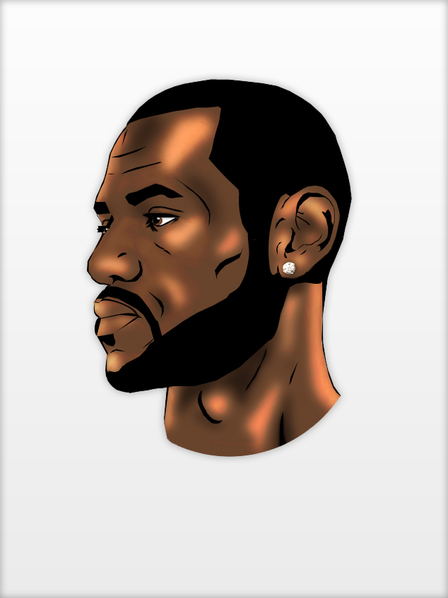 634x847 Lebron James Vector By Redx Raven